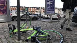 Bike sharing - veicoli abbandonati