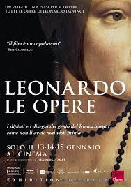 """Leonardo. Le opere"" al cinema"