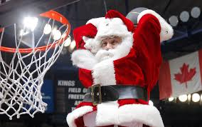 basket con il Christmas Day