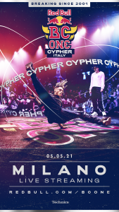 Red Bull BC One Cypher 2021_key visual
