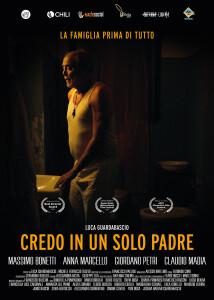 """Locandina """"Credo in un solo padre"""", di Luca Guardabascio"""